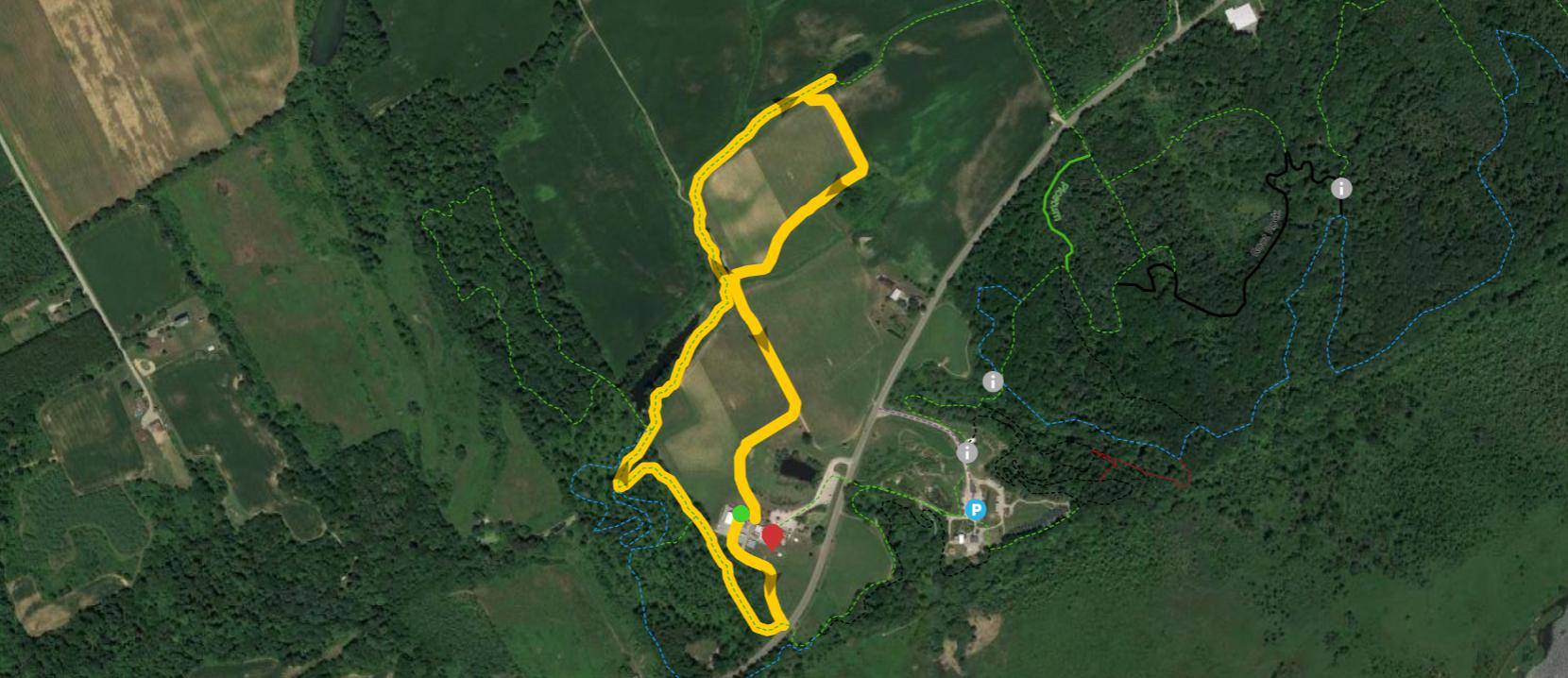 Harvest Hike Map
